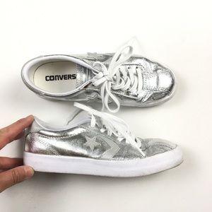 a5709b4d6b2e95 ... Pro Leather shoes featuring Source · Converse Shoes Kids Silver Dr J  Shoe 5 A04 Poshmark